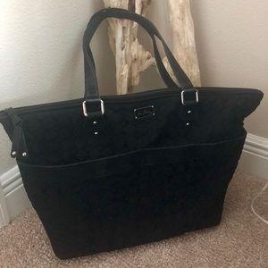 Vera Bradley Black Diaper Bag